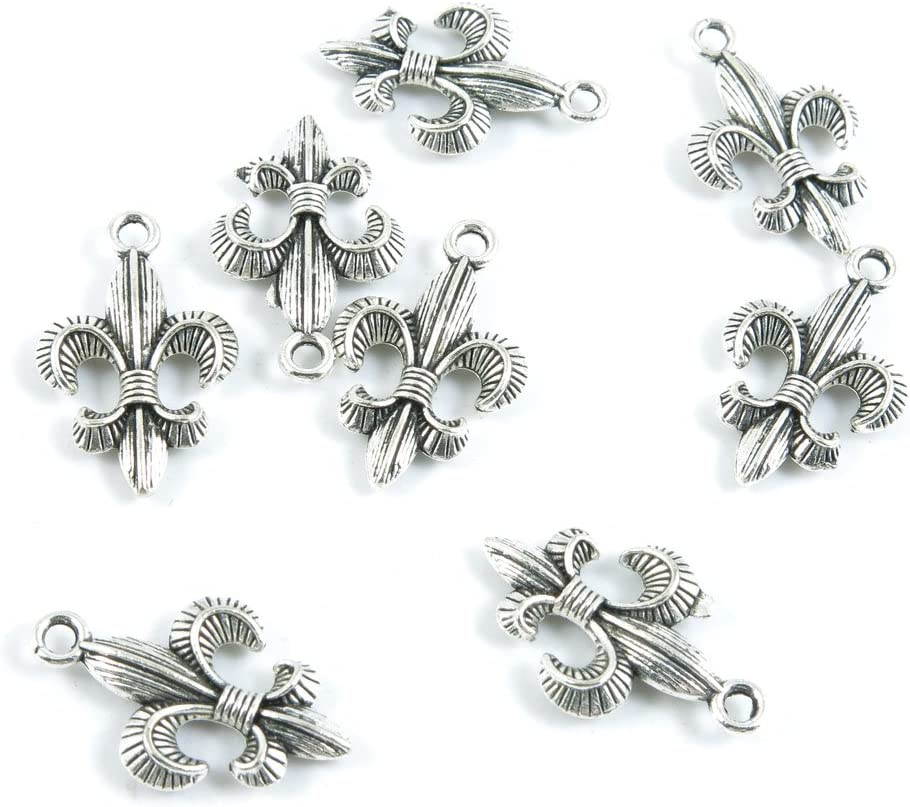 880 Pieces Antique Fees free!! Silver Tone Charms Making Jewelry Ranking TOP15 Whol Supply