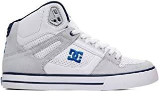 dc spartan high tops blue
