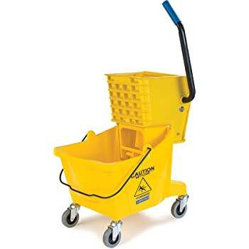 FG728100YEL Rubbermaid Professional Plus Mop Bucket and Wringer Combo