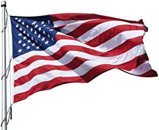 Eder Flag Manufacturing 40' x 75' Poly-Max U.S. Outdoor Flag PF75 010294