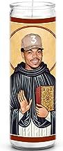 Chance The Rapper Celebrity Prayer Candle - Funny Saint Candle - 8 inch Glass Prayer Votive - 100% Handmade in USA - Novelty Celebrity Gift (Chance The Rapper)
