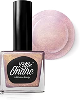Little Ondine Peel Off Fast Dry Zero Smell Non-Toxic Natural Nail Polish,Shimmer