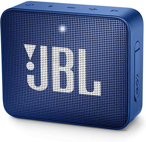 JBL GO2 Waterproof Ultra Portable Bluetooth Speaker (Blue)