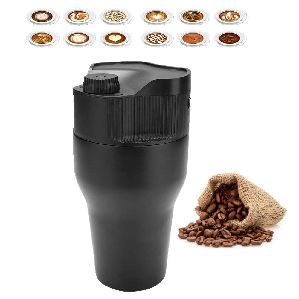 Máquina de café portátil, mini cafetera de café portátil ...