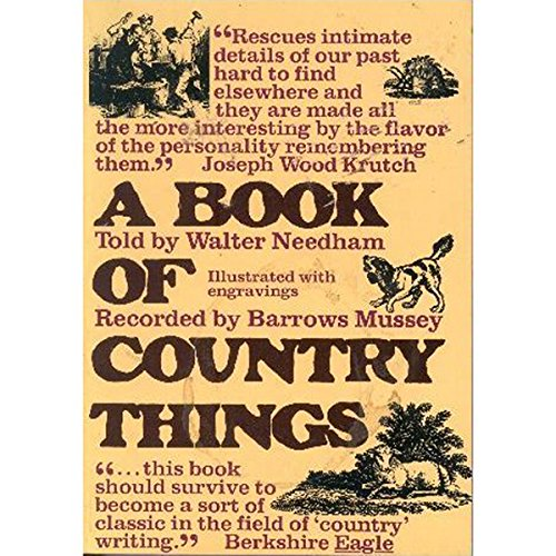 A Book of Country Things audiobook cover art