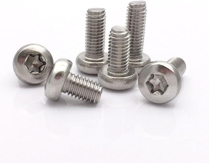 Packs M6 x 20mm Titanium Button Head Bolt Screw Torx t30 Ti DIN 7380 20 x 1.0