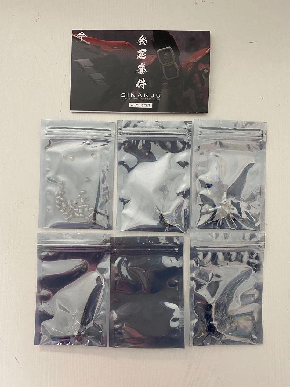 Anchoret Metal Details Part Set MG 100 SINANJU 1 Arlington Mall MSN-06S Gundam Max 87% OFF