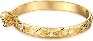 gold plated baby bracelet