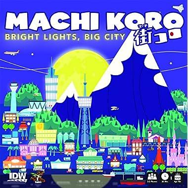 IDW Games Machi Koro Bright Lights Big City Card Game