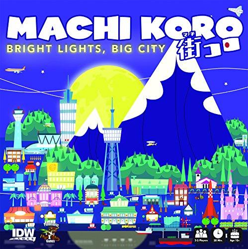 IDW Spiele SEP160613Machi Koro Bright Lights Big City Kartenspiel