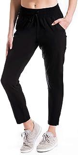 "Yogipace,Zip Pockets,Women's 24""/27""/30"" UPF 50+ Wrinkle Resistant Jogger Pants"