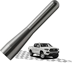 Elitezip Replacement Antenna for Toyota Corolla 2003-2008 | Optimized AM/FM Reception with Tough Material | 3 Inches - SilverTitanium
