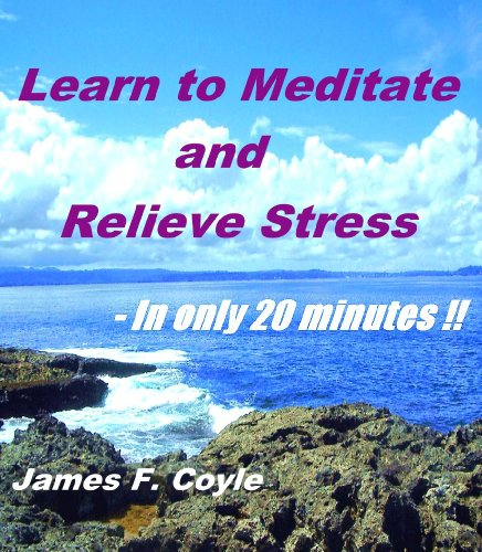 LEARN TO MEDITATE AND RELIEVE STRESS - In only 20 minutes!! (English Edition)