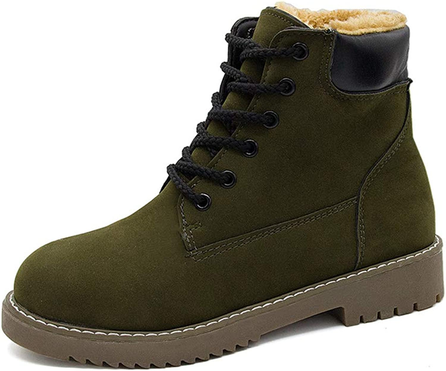 MIKA HOM Women's Plus Velvet Martin Boots Winter Snow Boots Warm shoes