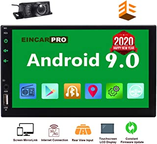EinCar Car Radio Double Din Android 9.0 Car Stereo 2 Din GPS Navigation 7 inch Touch..