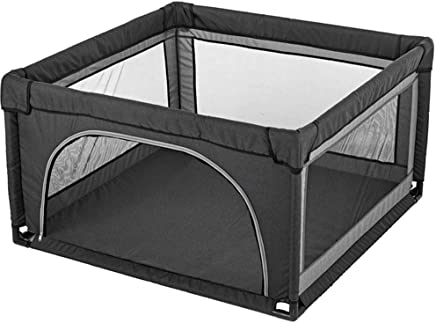 WJSW Portable Child Baby Infant Playpen Crawl Play Area  color GRAY