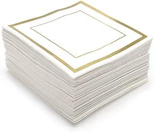 Best gold paper cocktail napkins Reviews