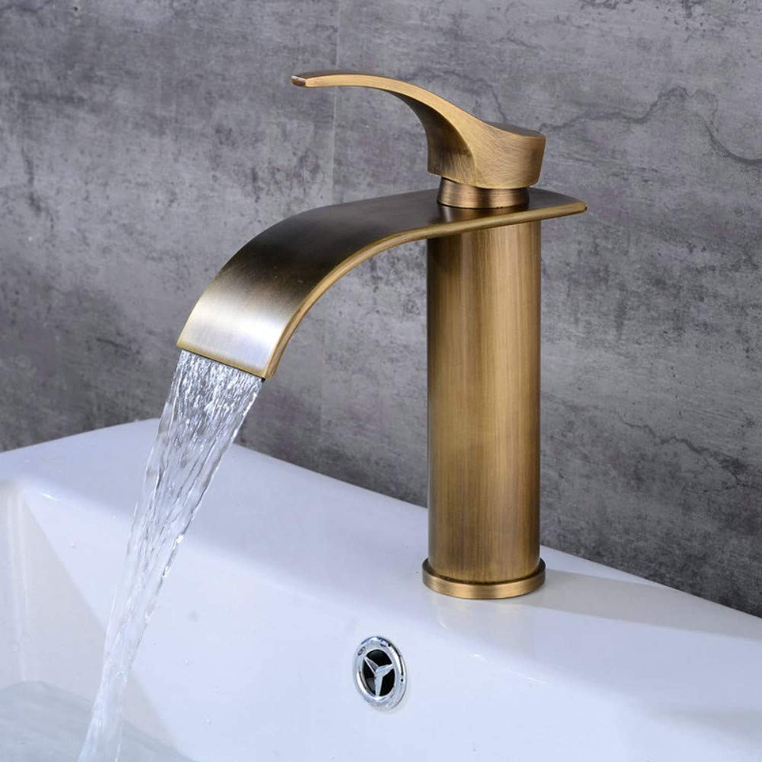 Kitchen Sink Taps Bathroom Sink Taps Washbasin Faucet Faucet Single Hole Hot And Cold Bathroom Wash Basin Lavatory Faucet