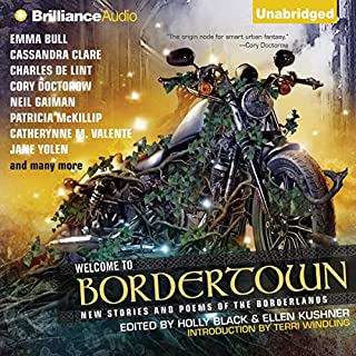 Welcome to Bordertown audiobook cover art