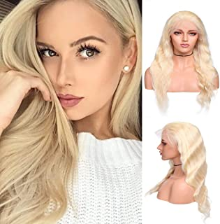 blonde deep wave wig