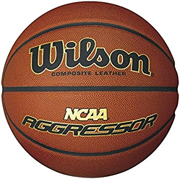Wilson NCAA Aggressor Composite Leather Ball (Official Size)