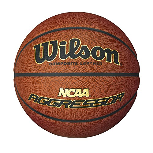 Save %58 Now! Wilson NCAA Aggressor Composite Leather Ball, Official Size