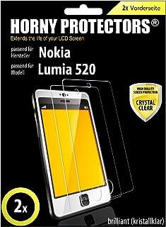 Horny Protectors SET 2 x lysande skärmskydd för Nokia Lumia 520