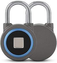 Veel voorkomende sloten Oplaadbare hangslot draadloze slimme vingerafdruk ontgrendelen sleutelloze anti-diefstal lock mobi...