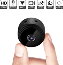 Mini Spy Camera WiFi Wireless Hidden Video Camera 1080P Full HD Small Nanny Cam with Night Vision Motion Activated Indoor Covert Security Cameras Surveillance Cam for Car Home Office iPhone Android