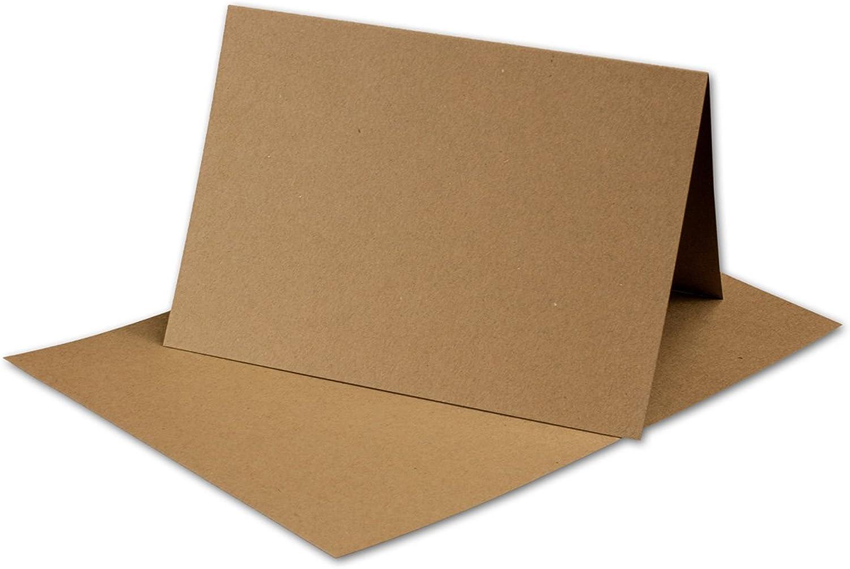 50 Stück Stück Stück    Artoz Grün-Line Doppelkarten (hoch)    DIN A5, 297 x 210mm, Farbe  grocer kraft B00V8857AQ | Genialität  9ebafc