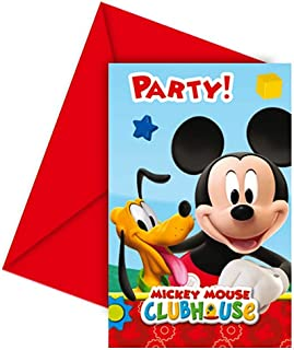 Amazon Es Mickey Mouse Invitaciones Artículos De Fiesta