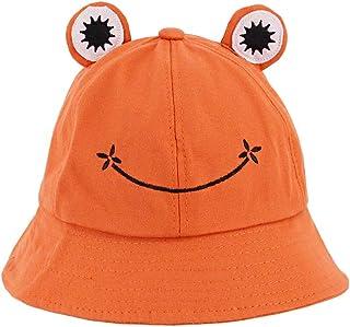 Surkat Frog Bucket Hat Multicolored Fisherman Cap Sun Hat Outdoor Summer Beach Caps for Kids Babies Boys Girls
