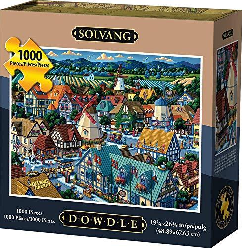 Dowdle Jigsaw Puzzle - Solvang - 1000 Piece