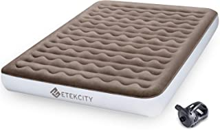 Etekcity Upgraded Camping Air Mattress, Queen Twin Airbed Height 9