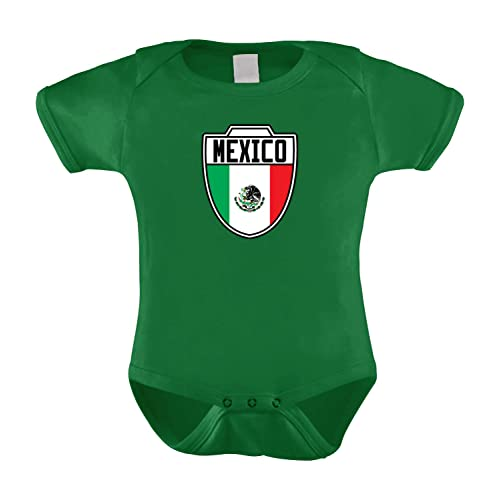 8e8af6312 HAASE UNLIMITED Mexico Mexican - Soccer Infant Bodysuit