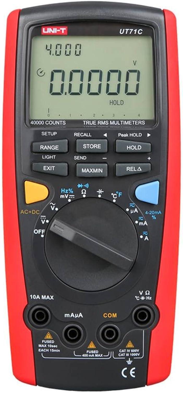 UT71C 39.999 Counts Digital-Multimeter True RMS Messung AC DC-Spannung Strom-Widerstand-Prüfvorrichtung Strom-Widerstand-Prüfvorrichtung Strom-Widerstand-Prüfvorrichtung Meter-Tool Kakiyi B07FT9D5VP | Verrückter Preis, Birmingham  a1f350