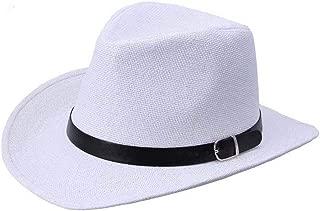 coromoseMen's Summer Straw Hat; Cowboy Hat