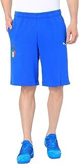 قميص برمودا للرجال بشعار مشجعي الاتحاد الايطالي لكرة القدم (اف اي جي سي) من بوما