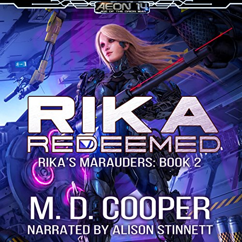 Rika Redeemed audiobook cover art
