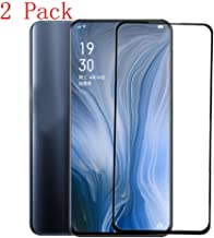 [2 Pack] Full Screen Coverage for Oppo Reno Tempered Glass Screen Protector 2019 Protector Film for Oppo Reno