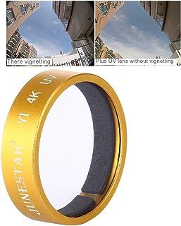 Black Ychaoya Lens Accessories Sing for Xiaomi Xiaoyi Yi II Sport Action Camera Proffesional 4K UV Filter