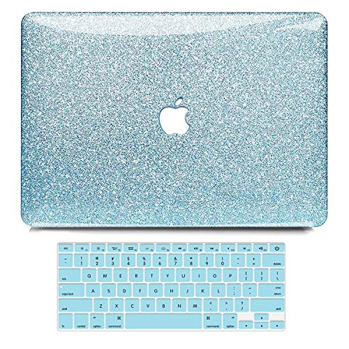 B BELK MacBook Air 13 Inch Case 2010-2017 Release Older Version A1466 A1369 Shining Sparkly Crystal Glossy Ultra Slim PC Hard Case with Keyboard Cover Compatible with MacBook Air 13 Without Touch ID