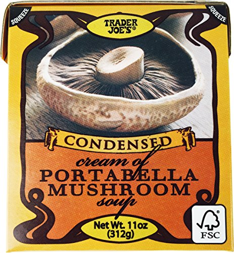 Trader Joe's Condensed Cream of Portabella Mushroom Soup 11oz