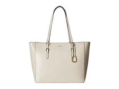 LAUREN Ralph Lauren Bennington Tote (Vanilla) Tote Handbags