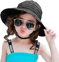 Visor Cap Women Ladies Kids Girls melitop Summer Wide Brim Foldable Packable Sun Blocking Hat Floppy Beach Sand Pool UPF 50