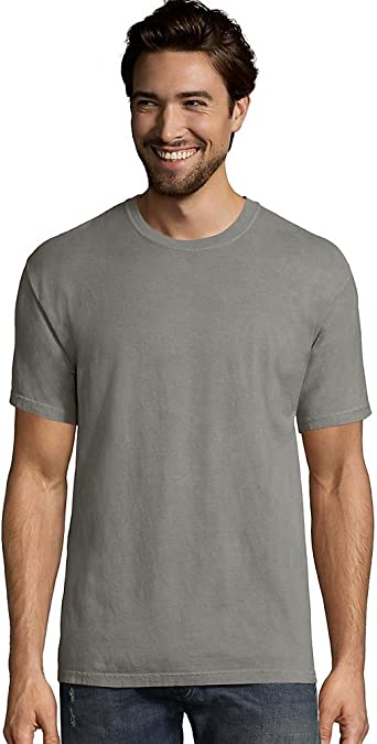 ComfortWash by Hanes Mens Short Sleeve Garment-Dyed T-Shirt GDH100 up to 3XL