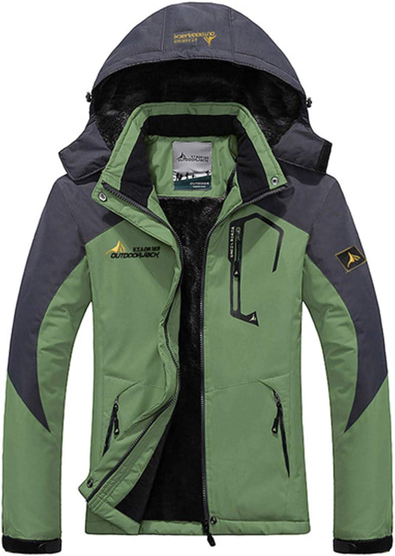 FOBEXISS Women Waterproof Ski Jacket Warm Winter Snow Coat Mountain Windbreaker Hooded Raincoat Jackets