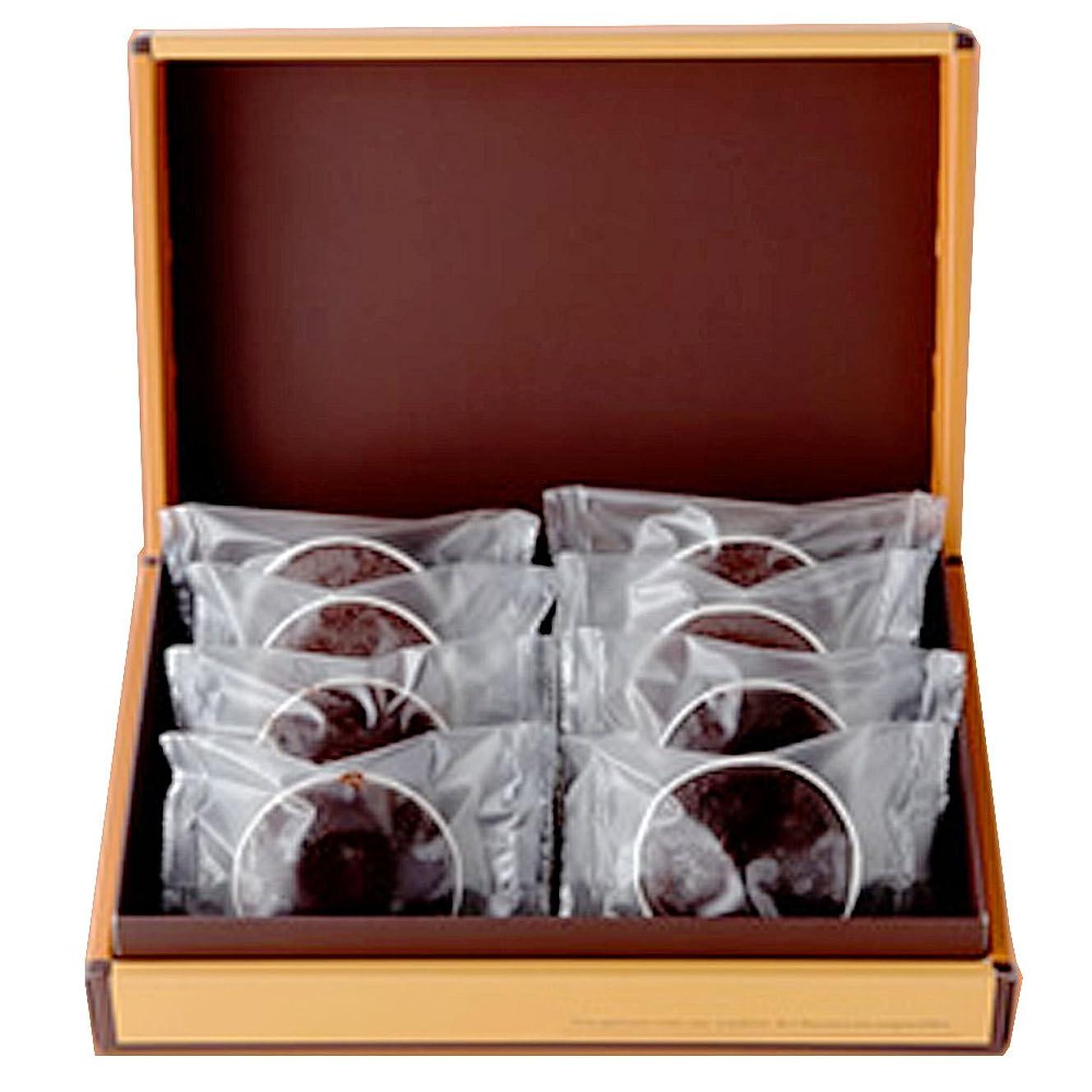 属する期限郵便局濃厚チョコレートのトリュフケーキ(フォンダンショコラ) 8個