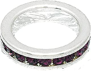 birthstone stackable rings for mom