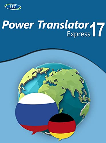 Power Translator 17 Express Deutsch-Russisch: Der komfortable Deutsch-Russisch-Übersetzer für den Desktop! Windows 10|8|7 [Online Code]